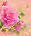 Роза для <b>Лены</b> гифка анимация