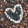 Сердце <b>из</b> <b>камней</b> гифка анимация