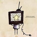 <b>С</b> <b>телевизором</b> вместо головы гифка анимация
