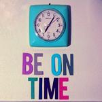 Бирюзовые <b>настенные</b> часы (be on time) гифка анимация