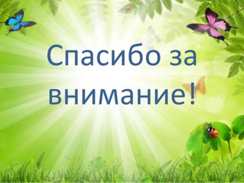 Спасибо за внимание! <b>Фон</b> <b>зеленый</b> с бабочками гифка анимация