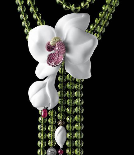 Ювелирное украшение с <b>орхидеями</b> гифка анимация