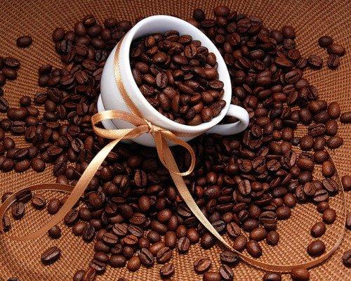 17 апреля. Международный день <b>кофе</b>. <b>Кофе</b> в зернах и ленто... гифка анимация
