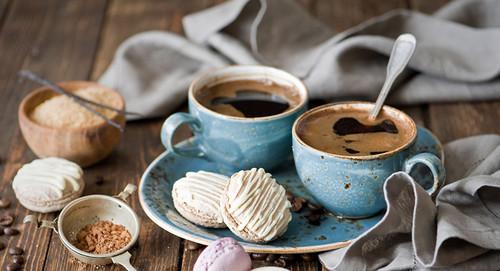 17 апреля. Международный день <b>кофе</b>. Две чашечки <b>кофе</b> гифка анимация