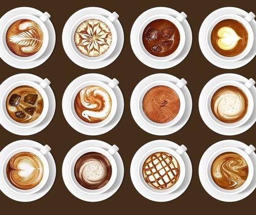 17 апреля. Международный день <b>кофе</b>. Чашечки <b>кофе</b> с разным... гифка анимация