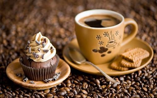 17 апреля. Международный день <b>кофе</b>. <b>Кофе</b> и пороженое гифка анимация