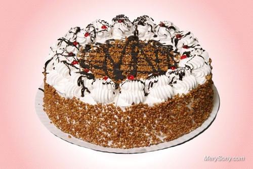 Аппетитный <b>торт</b> бело-коричневый. Международный день <b>торта</b>! гифка анимация