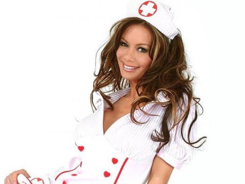Открытка с днем медицинской сестры! <b>Сестричка</b> улыбается гифка анимация
