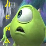 Корпорация монстров и <b>лена</b> гифка анимация