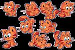Котята-<b>близнецы</b> гифка анимация
