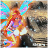 Bloom (winx club) смайлик гифка анимация