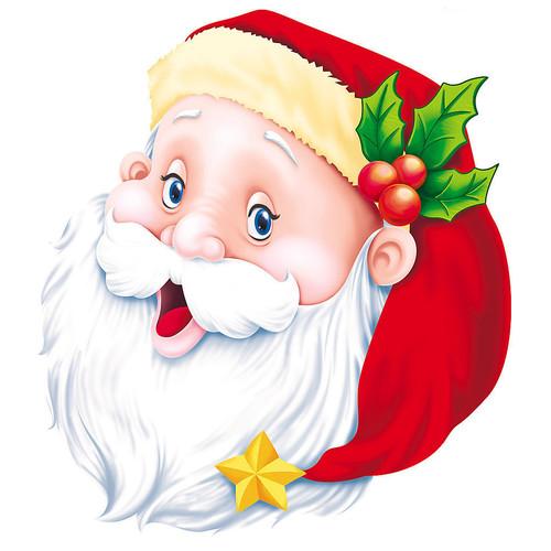 <b>Смеющийся</b> Дед Мороз гифка анимация