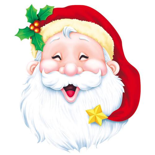 Картинка <b>смеющегося</b> Деда Мороза. Сложно представить более... гифка анимация