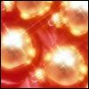 <b>Новогодние</b> золотые шары гифка анимация