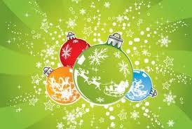 Новогодние шарики. <b>Зеленый</b> <b>фон</b> гифка анимация