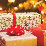 Новогодние <b>подарки</b> <b>под</b> <b>елкой</b> гифка анимация
