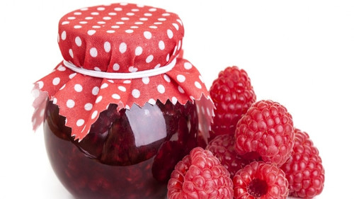 День малинового <b>варенья</b>. <b>Варенье</b> и ягоды гифка анимация