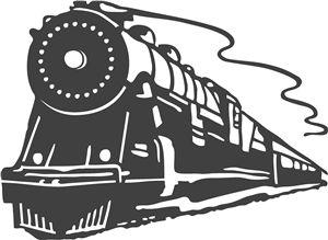 С <b>днем</b> <b>железнодорожника</b>! Стилизованный поезд! гифка анимация