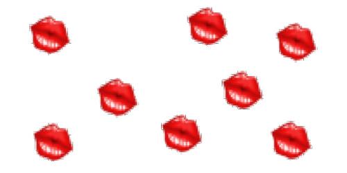 Открытка. С <b>днем</b> <b>поцелуев</b>! Череда <b>поцелуев</b>! гифка анимация