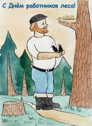 Лес лесник картинки для детей
