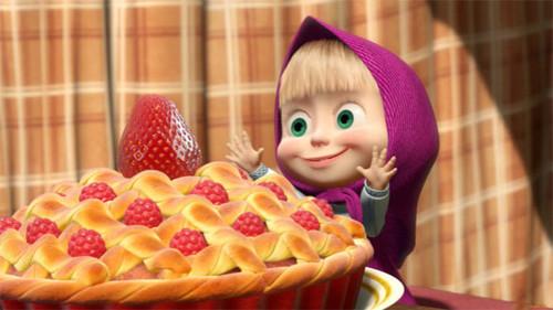День пирожков с малиновым <b>вареньем</b> гифка анимация