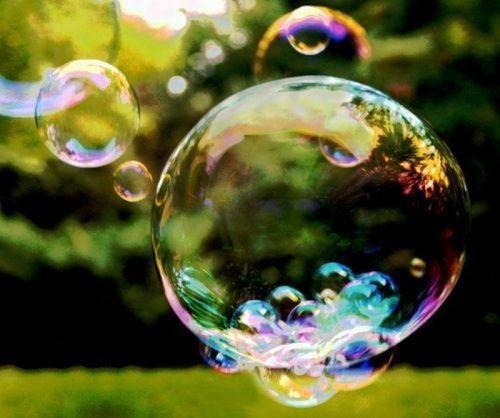 Открытки. <b>День</b> <b>красоты</b>. <b>Красота</b> мыльных пузырей гифка анимация