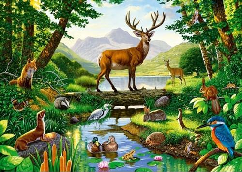 <b>С</b> <b>Днем</b> <b>Работников</b> <b>Леса</b>! Прекрасные жители <b>леса</b> гифка анимация