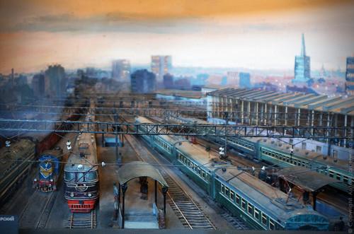 С <b>Днем</b> <b>Железнодорожника</b>! Музей железнодорожного транспорта гифка анимация