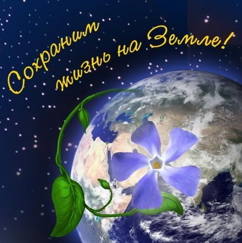 <b>Открытки</b>. Всемирный день охраны окружающей <b>среды</b>! Сохрани... гифка анимация