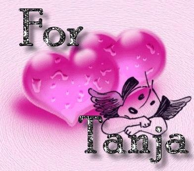 <b>Татьянин</b> день! Для <b>Татьяны</b>! Два сердечка гифка анимация